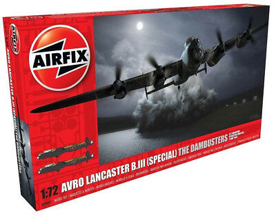 Airfix Avro Lancaster B.III - The Dambusters 1:72 Plastic Model Airplane A09007