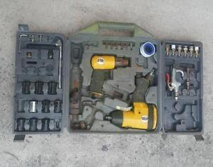 Misc air tool set including rattle gun impact wrench Bellbowrie Brisbane North West Preview