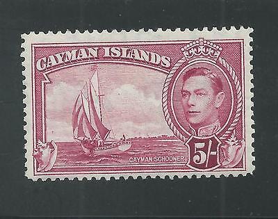 CAYMAN ISLANDS # 110 MNH SCHOONER