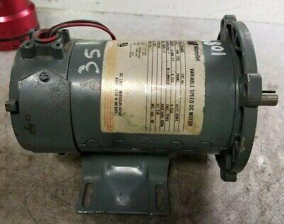 "90VDC 56C Frame 1750RPM Baldor CDP3440 DC Motor 3//4HP 5//8/"" Shaft"
