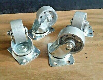 Shepherd Richelieu 9174 2 Inch Steel Wheel Swivel Plate Casters - Quantity 4
