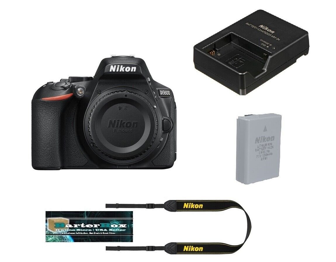 Nikon D5600 24.2 MP DX-Format Full HD 1080p Digital SLR Came
