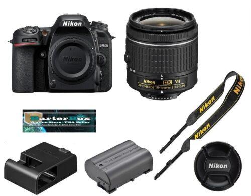 Nikon D7500 DSLR Camera with AF-S DX NIKKOR 18-140mm f/3.5-5.6G ED VR lens Black 1582