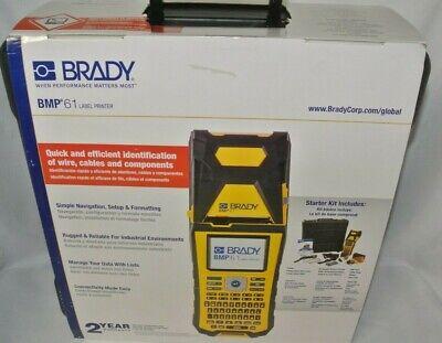 Brady Bmp61 Portable Label Printerbmp61usb