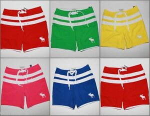 NWT-Abercrombie-Men-Morgan-Mountain-Swim-Trunks-Shorts-Board-Boardshorts