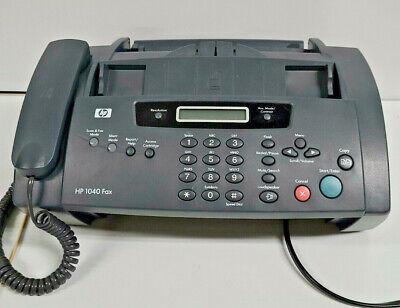 Hp 1040 Inkjet Fax Machine Scan Fax Copy Phone