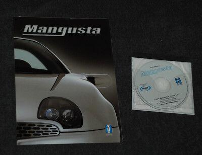 Pressemappe Media Press Kit DE TOMASO Mangusta