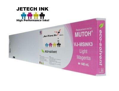 Mutoh Vj-msink3 Eco Solvent Compatible 440ml Ink Cartridges - Light Magenta