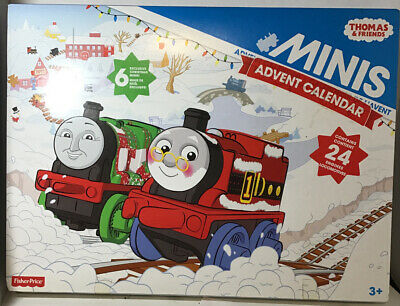 Fisher-Price Thomas & Friends Minis 2015 Advent Calendar With 24 Engines! New