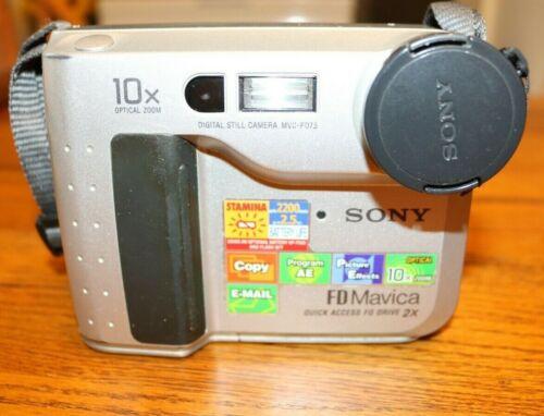 Sony Mavica FD75 Vintage Digital Floppy Disk Camera
