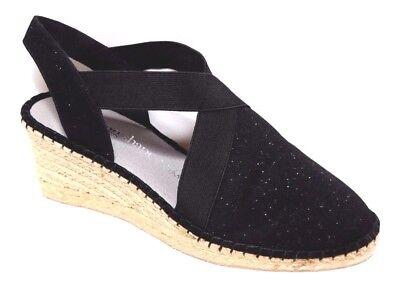 TS shoes TAKING SHAPE sz 10 / 41 Enya Espadrille Wedge glitter comfy NIB rp$140!
