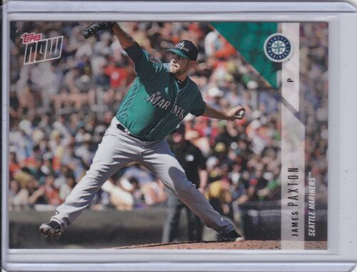 2018 Topps NOW OD-206 James Paxton Seattle Mariners ~ PR 162