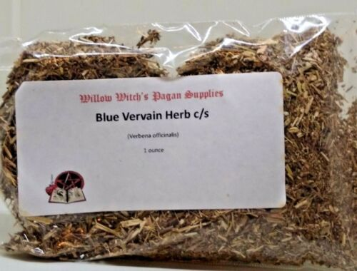 Blue Vervain Herb c/s 1 ounce Wicca Enchanter