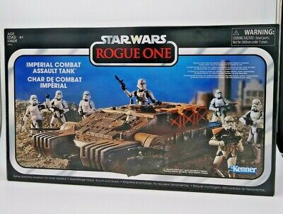 KENNER VINTAGE: STAR WARS ROGUE ONE - IMPERIAL COMBAT ASSAULT TANK *UK STOCK*