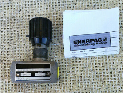 Enerpac Vfc1 Hydraulic Flow Control Valve 4 Sae