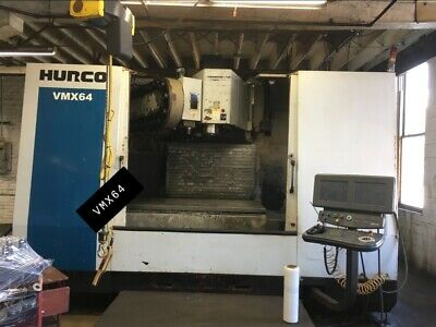Used Hurco Vmx64-40t Vertical Machining Center Milwaukee Wi