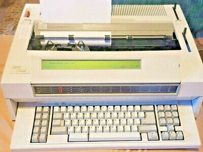 Ibm Wheelwriter 35 Lexmark Electric Typewriterword Processor Refurb Warranty