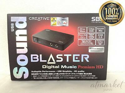 Creative Labs Sound Blaster X-Fi HD Sound Card USB 2.0 SB-DM-PHDR2 Japan New F/S