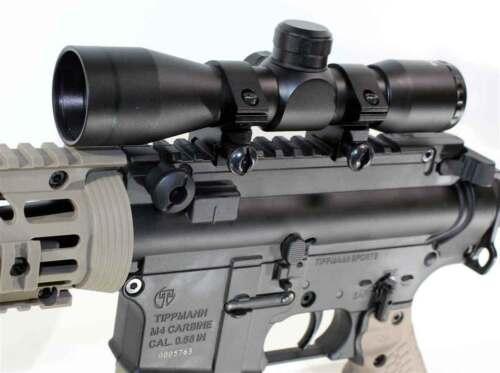 Trinity paintball 4x32 sniper scope for tippmann tmc accessories woodsball gear