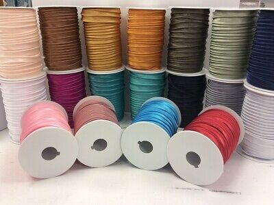 Satin Paspelband uni 10 mm *24 Farben* (3 m - 1,00 EUR/m) - Satin-paspel