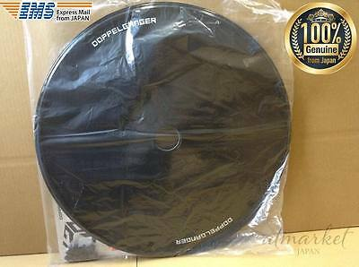 DOPPELGANGER 700C DWC064-BK ABS Black Bicycle Rear Wheel Covers from JAPAN EMS