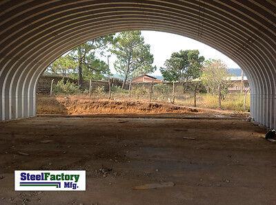 Steel Factory Mfg S30x40x14 Prefab Metal Arch Cover Storage Building Garage Kit