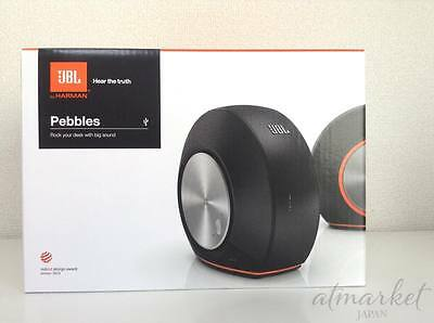 NEW JBL Pebbles bus powered speakers USB DAC built-in black