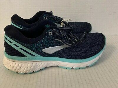8c2d86bbf5e81 Brooks Ghost 11 Women s Navy Grey Blue size 7.5 Wide (D)