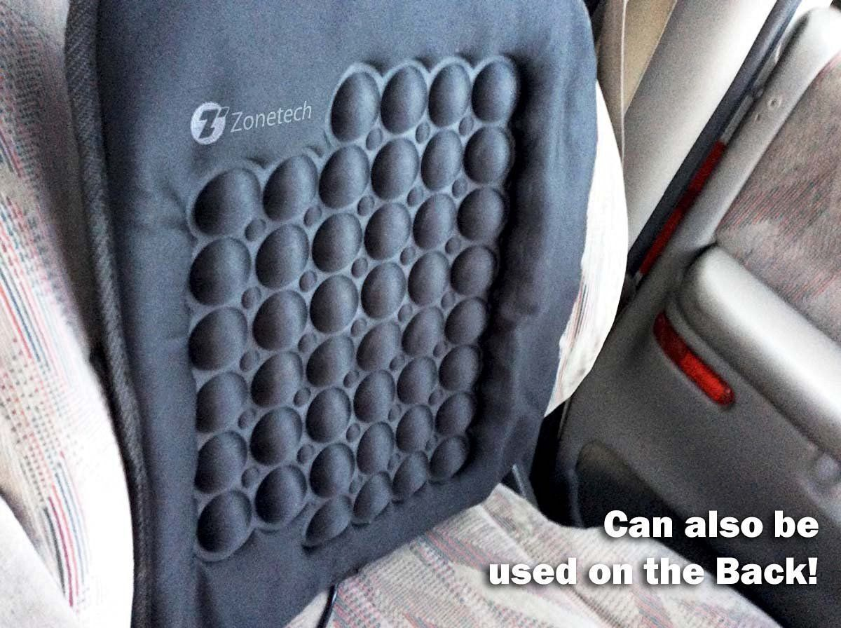 Zone Tech Car Heated Seat Chair Cushion Hot Cover Auto 12V