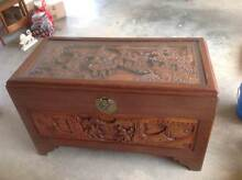 Camphor wood chest - blanket box West Pennant Hills The Hills District Preview