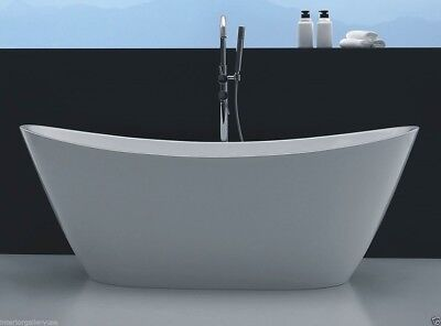 Acrylic Bathtub - Freestanding - Soaking Tub - Modern Bathtub - Vesi - 67""
