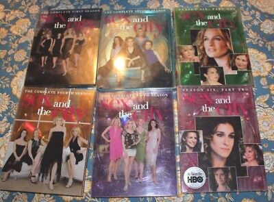 Sex and the City DVD Seasons 1 2 4 5 6 - f