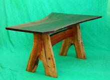 NEW Beautiful solid Jarrah and sheoak HANDMADE dining table. Atwell Cockburn Area Preview