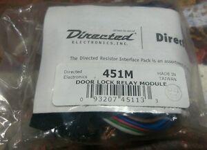 Directed 451m door lock relay module
