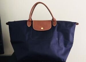Authentic Long-Champ Top-Handle Bag