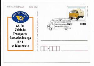 POLAND 1996 -ST 96269 - 75th anniv. of the Department of Road Transport - Kraków, Polska - POLAND 1996 -ST 96269 - 75th anniv. of the Department of Road Transport - Kraków, Polska
