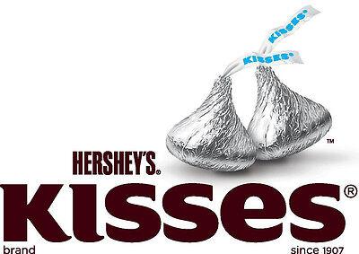 (Hersheys kisses silver milk chocolate  4 lb Bulk kosher  400 pieces Candyland)