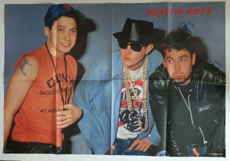 Beastie Boys Rare Original 1987 Poster (Folded)