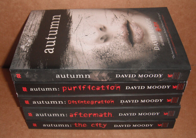 Autumn Vol.1,2,3,4,5 Complete Set  by David Moody  NEW