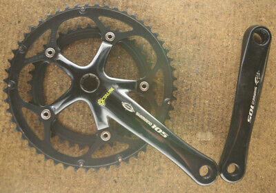 NEW OLD STOCK BLACK CRANK COVER DUST CAPS SET SQUARE TAPER CHAINSET RE-BUILD