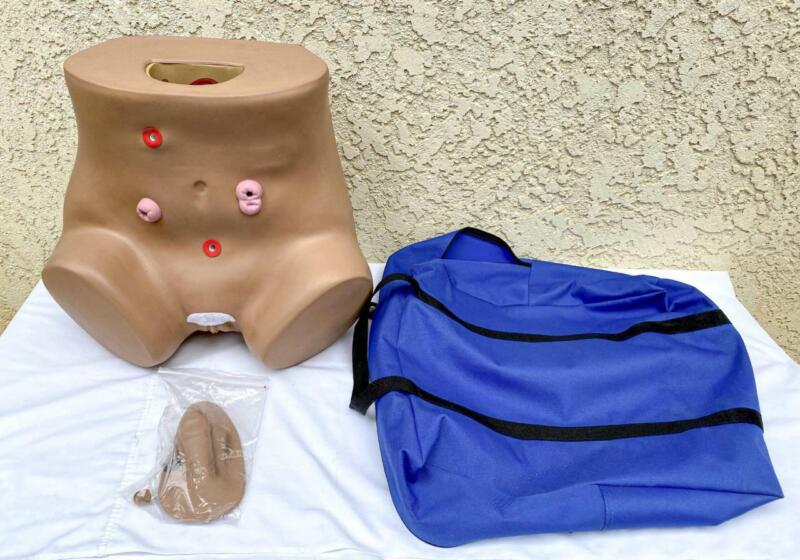 Gaumard Advanced Ostomy & Catherization Trainer w/ Male & Female Genitalia