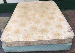 Comfortable Queen bed base with mattress. Please pick up Kingsbury Darebin Area Preview