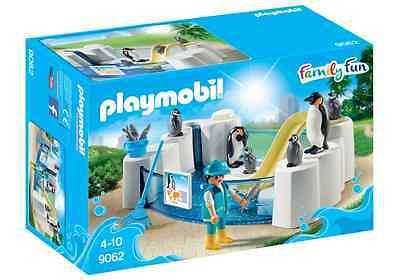 Playmobil® Family Fun 9062 Pinguinbecken Pinguin Becken mit Felsen