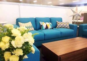 【Brand New】Luxia Fabric 1+2+3 Sofa Lounge Set Nunawading Whitehorse Area Preview