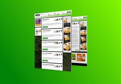 Pets Wordpress Premade Blog Established Profitable Professional