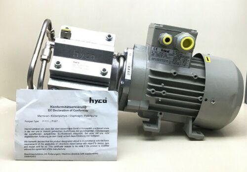 SIEMENS HYCO 7AA71M-4 B34 MEMBRANE VACUUM 3-MOT 55-IP 1370/1670 1/MIN