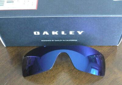 Gebraucht, Nwot Oakley Batwolf Linse Authentisch Eis Iridium Sonnenbrille Gläser gebraucht kaufen  Versand nach Germany
