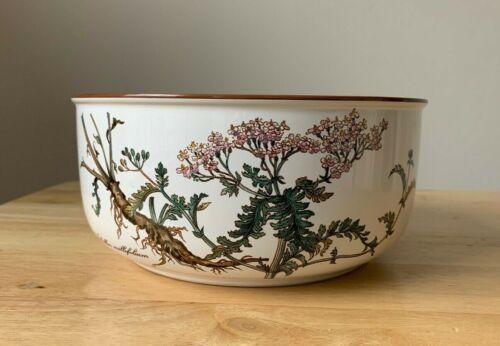 "VILLEROY & BOCH BOTANICA 7.75"" Round Vegetable Bowl - Achillea Millefolium - EUC"
