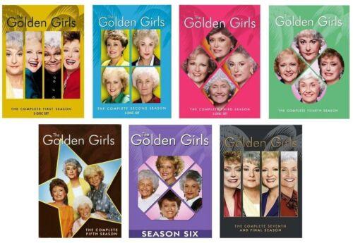 The Golden Girls Complete Series Dvd Bundle Season 1-7 (21-disc)