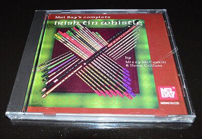 Mel Bay's Complete Irish Tin Whistle Audio CD Sealed 1996 RARE ()